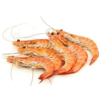 Krewetki gotowane całe - Frisco Fish