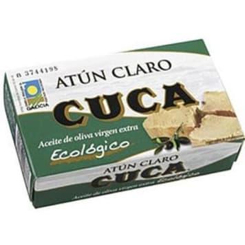 Tuńczyk żółtopłetwy w oliwie z oliwek 110g - Cuca. Doskonale pasuje do wielu dań.
