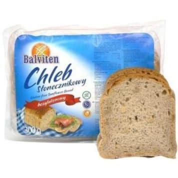 Słonecznikowy chleb bezglutenowy – Balviten wybierają osoby, które nie mogą spożywać glutenu.