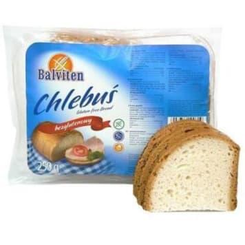 Chleb bezglutenowy Chlebuś - Balviten długo zachowuje świeżość.