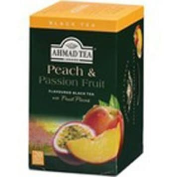 Herbata czarna aromatyzowana - AHMAD TEA. Kompozycja owoców która zapewni niepowtarzalny smak.
