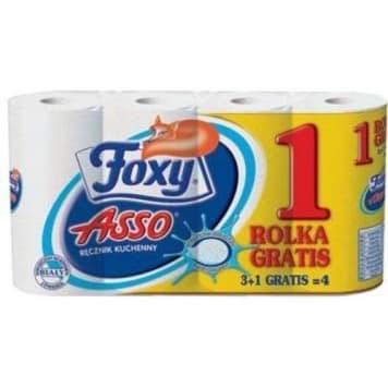Foxy - Ręcznik kuchenny 4 szt. Niezbędny element w każdym domu.