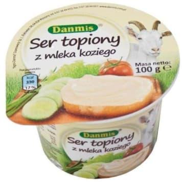 Ser topiony z mleka koziego - Danmis. Produkt mleczny doskonały dla osób z nietolerancją laktozy.