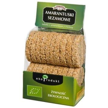 Amarantuski sezamowe – Eko Produkt. Sposób na spożywanie drogocennych składników.