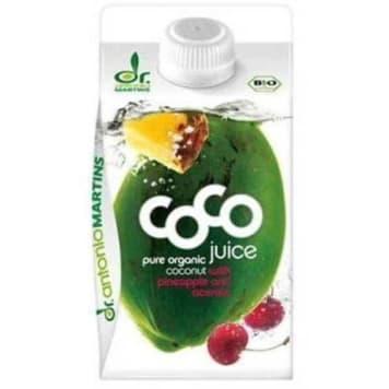 woda kokosowa BIO 500ml DR.MARTINS - naturalny napój izotoniczny