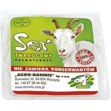Ser kozi pełnotłusty - Danmis o śmietankowym smaku. Zawiera białka, cynk, kwas foliowy, witaminy.