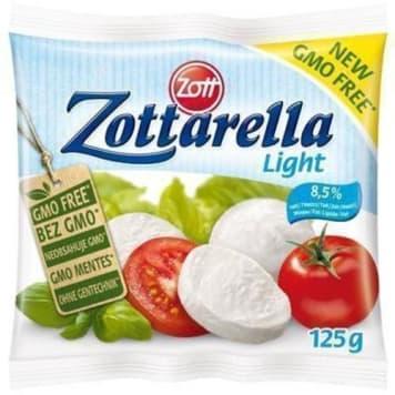 Ser Mozzarella Light-Zott. Niskokaloryczna wersja mozzarelli.