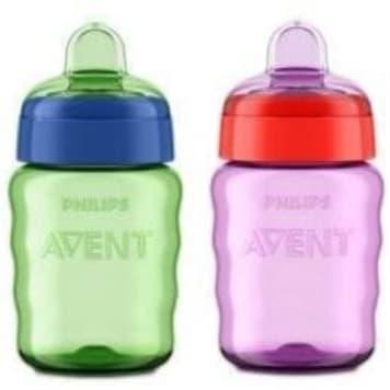 Kubek niekapek z ustnikiem - Philips Avent. Odpowiedni dla małych dzieci.