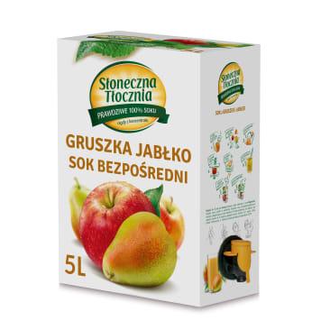 Sok jabłkowo-gruszkowy - Słoneczne Tłocznia