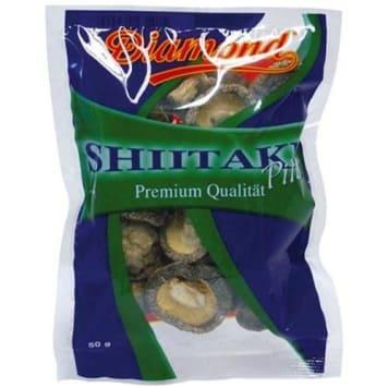 Grzyby Shitake suszone - Diamond. Najstarsze grzyby uprawiane przez człowieka.
