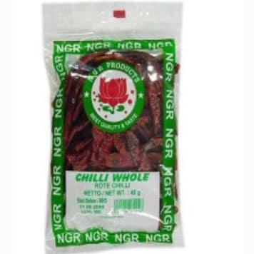 Chili całe, ekstra mocne – NGR doskonałe do potraw wymagających ostrego, zdecydowanego smaku.