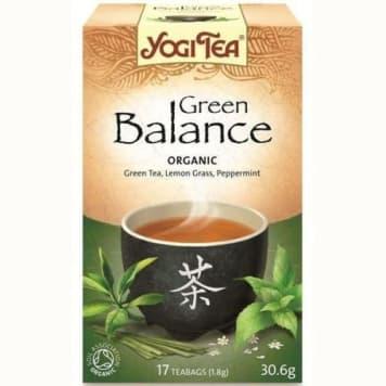 Herbata zielona Równowaga 17 torebek - Yogi Tea