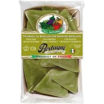 Ravioli z bazylią i grillowanymi warzywami - Bertagni