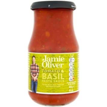Sos pomidorowy z bazylią 400 g - Jamie Oliver. Klasyczny dodatek do dań z makaronu.