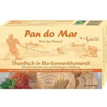 Tuńczyk w oleju słonecznikowym BIO – Pan Do Mar to zdrowe i doskonałe źródło Omega-3.