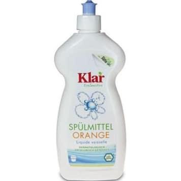 KLAR EcoSensitive - Płyn do naczyń pomarańczowy 500ml - pomarańczowa  świeżość