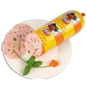 Polędwica z warzywami - Jbb. Idealny pomysł na szybką i pełnowartościową przekąskę.