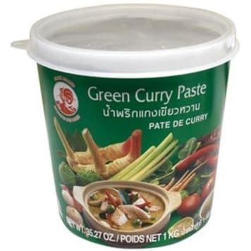 Pasta curry zielona - Cock