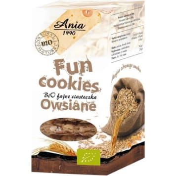 Ciasteczka owsiane Fun Cookies - Bio Ania
