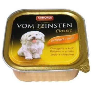 Animonda - Pokarm dla psa z drobiem i cielęciną dostarczy twojemu pupilowi składników odżywczych.