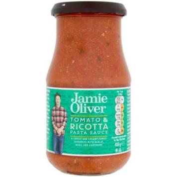 Sos pomidorowy z serem risotta – Jamie Olivier to gotowy sos do makaronu, lasagne lub pizzy.