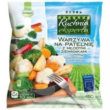 Warzywa na patelnię z młodymi ziemniakami - Oerlemans. Sposób na zdrowy, szybki i pożywny posiłek.