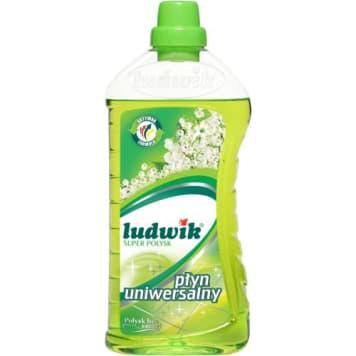 Ludwik - Uniwersalny płyn do mycia. Doczyści i odświeży każdą powierzchnię.