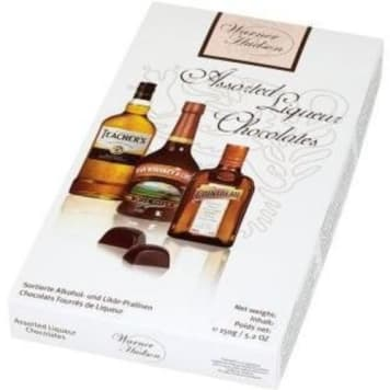 Praliny z alkoholem - Warner Hudson. Wyrafinowana przyjemność dla amatorów eleganckich alkoholi.
