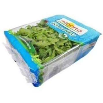 Rukola - Mioorto. Delikatnie pikantne, niezwykle aromatyczne warzywo kapustowate.