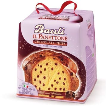 BAULI Panettone Panettone with pieces of chocolate 500 g