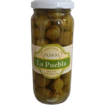 Oliwki zielone drylowane - La Puebla. Hiszpański przysmak na polskim stole.