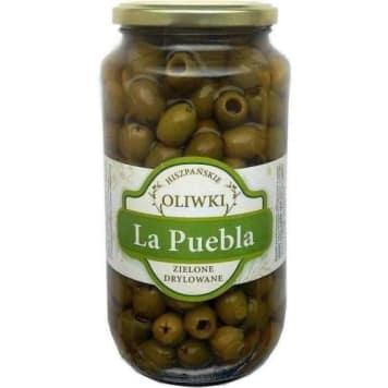 Oliwki zielone drylowane 900g - La Puebla