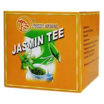 Herbata jaśminowa (całe liście) – Greeting pine to połączenie mocy zielonej herbaty i jaśminu.