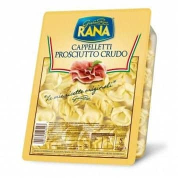 Świeże Cappalletti - Rana. Szybkie danie o idealnych walorach smakowych.