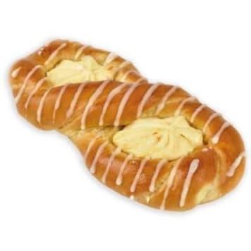 Putka Drożdżówka Ósemka z serem wypiekana zgodnie z tradycyjną recepturą.