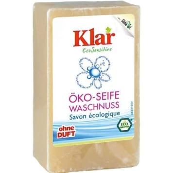 Orzechowe mydło w kostce EcoSensitive – Klar. Orzechowa pielęgnacja i nawilżenie.