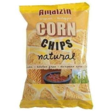 Chipsy kukurydziane solone 150g - Amaizin