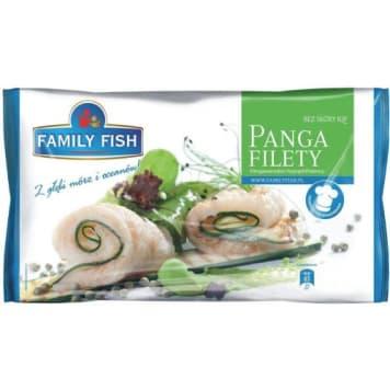 Mrożone filety panga-Family Fish to szybki i smaczny pomysł na obiad.