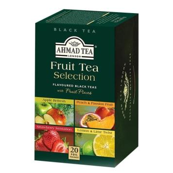 Herbata owocowa 20 torebek - Ahmad Tea. Wyjątkowe urozmaicenie podwieczorku.