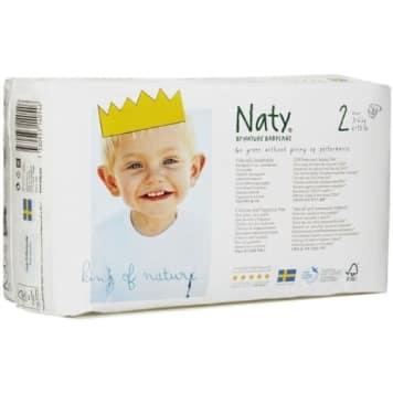 NATY Eco Nappies Size 2 (3-6kg) 33 pcs 1pc