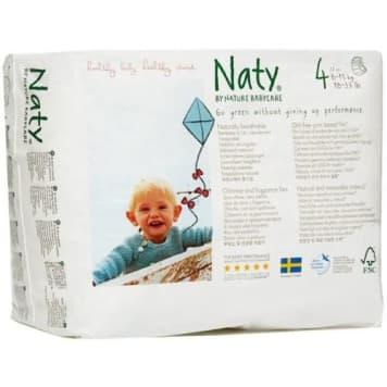 Ekologiczne Pieluchomajtki (8-15kg)22szt -Naty. Ochrona skóry dziecka w pierwszych miesiącach życia.