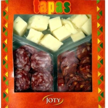 JOTY Tapas (Fuet, Chorizo, Cheese) 150g