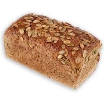 Chleb razowy z dynią – Putka. Pyszny i zdrowy chleb z dodatkiem pestek dyni.