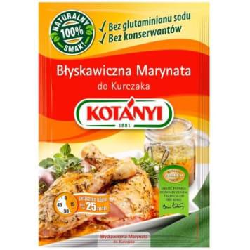 Błyskawiczna marynata do kurczaka - Kotanyi. Idealna marynata do mięs.