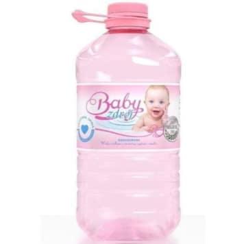 Woda źródlana - Baby Zdrój. Niskosodowa i niskozmineralizowana niegazowana woda źródlana.