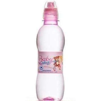 Woda źródlana niegazowana - Baby Zdrój Girl