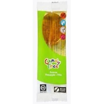 Lizak o smaku ananasowym - Candy Tree. Smaczna przekąska szczególnie lubiana przez dzieci.