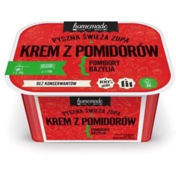 Zupa krem z pomidorów z bazylią - Homemade