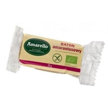 Baton amarantusowy – Amarello to bezglutenowa zdrowa przekąska.
