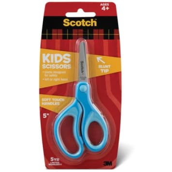 Bezpieczne nożyczki o zaokrąglonych końcówkach dla dzieci Scotch .